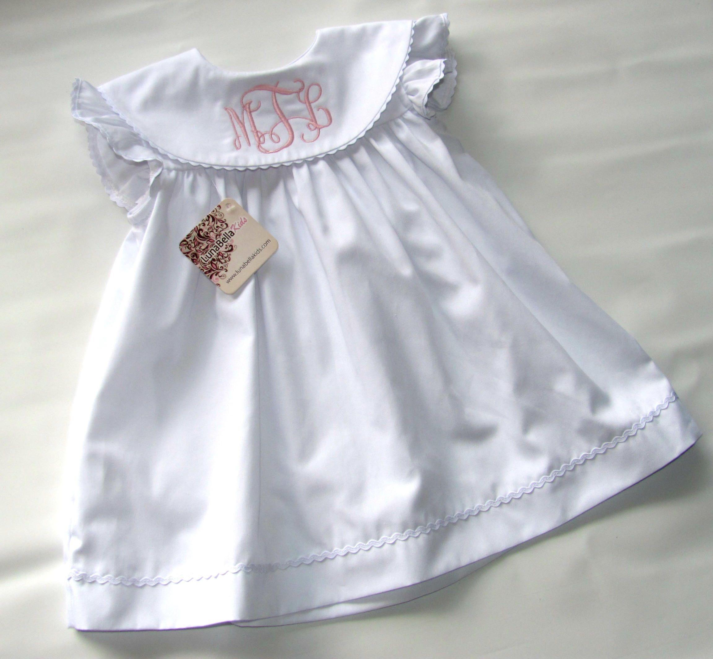Girls Monogrammed Dress Easter Dress White Monogram Dress Toddler Monogram Dress Christening Dress Baby Baptism Dress Monogrammed Dress Monogram Girls Dress Baptism Dress [ 2128 x 2303 Pixel ]