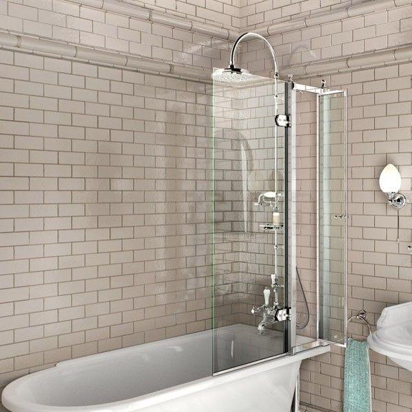 Bathroom Burlington Ideas burlington bathscreen for traditional bath. clever little access