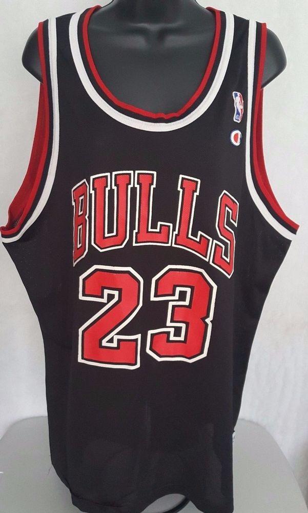 24bb39a5573 Vintage Champion Men's Chicago Bulls Michael Jordan #23 Jersey Size 52  #Champion #ChicagoBulls