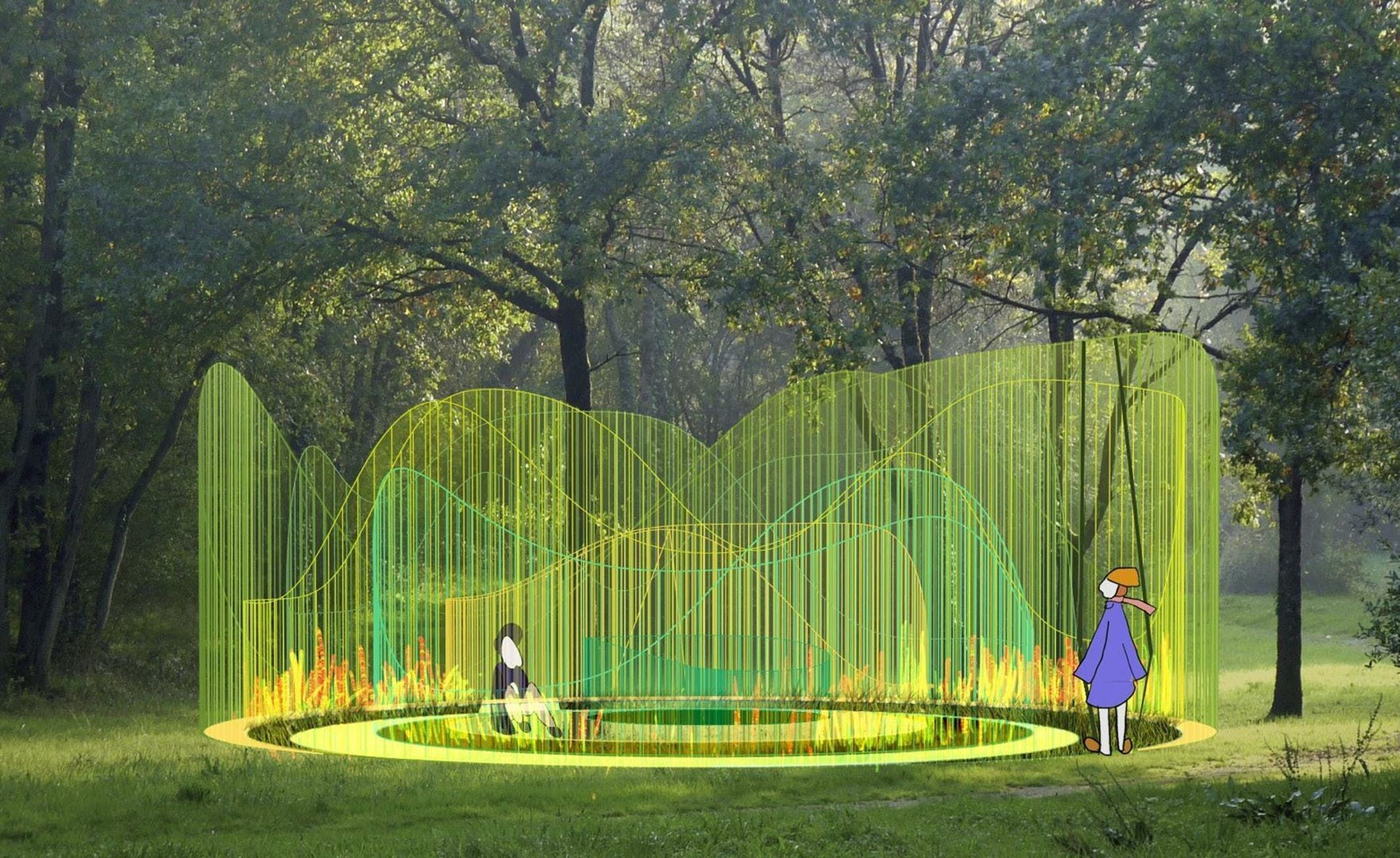 Selgascanos 2015 serpentine pavilion now open to the