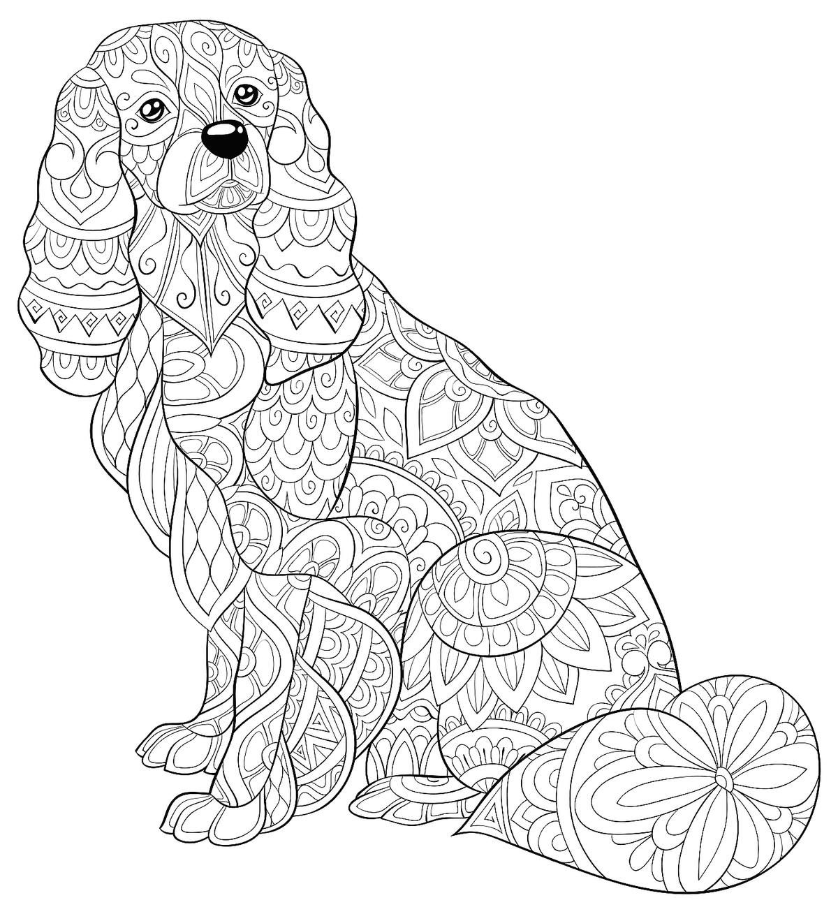Dog Coloring Pages Free Printable Coloring Pages Of Dogs For Dog Lovers Of All Ages Printables 30seconds Mom Dog Coloring Page Dog Coloring Book Puppy Coloring Pages [ 1309 x 1200 Pixel ]
