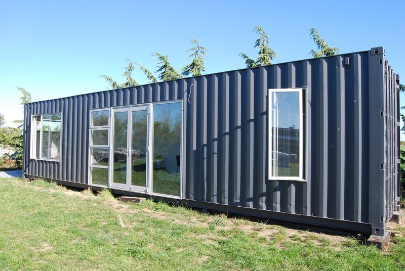 40 Ft Container House Fully Self Contained Trade Me Property