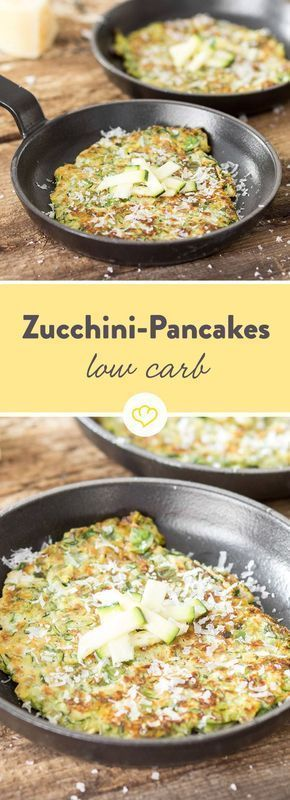 Photo of As crispy as Fritters! Low-carb pancakes with zucchini
