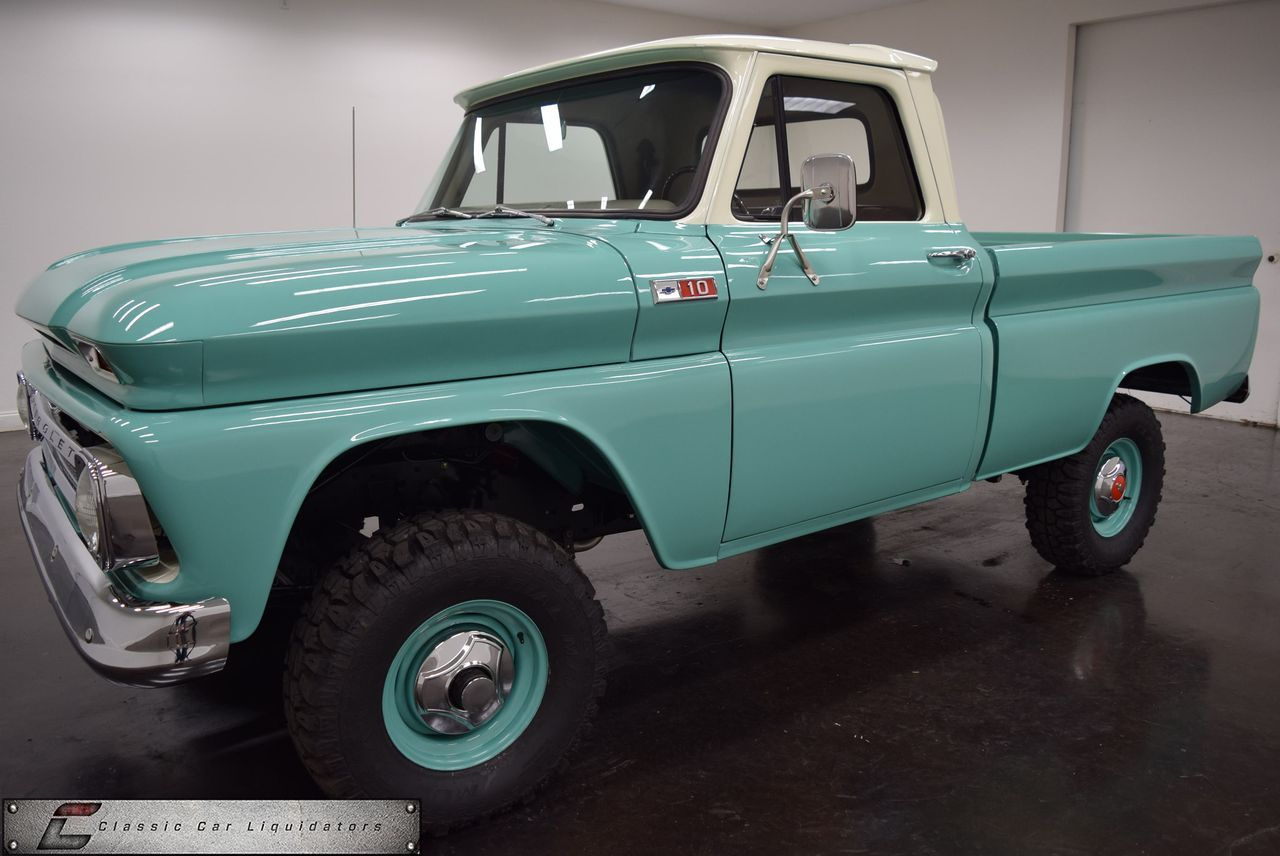 1965 Chevrolet K10 4x4 Pickup Frame Off Show Restored - Classic Car ...