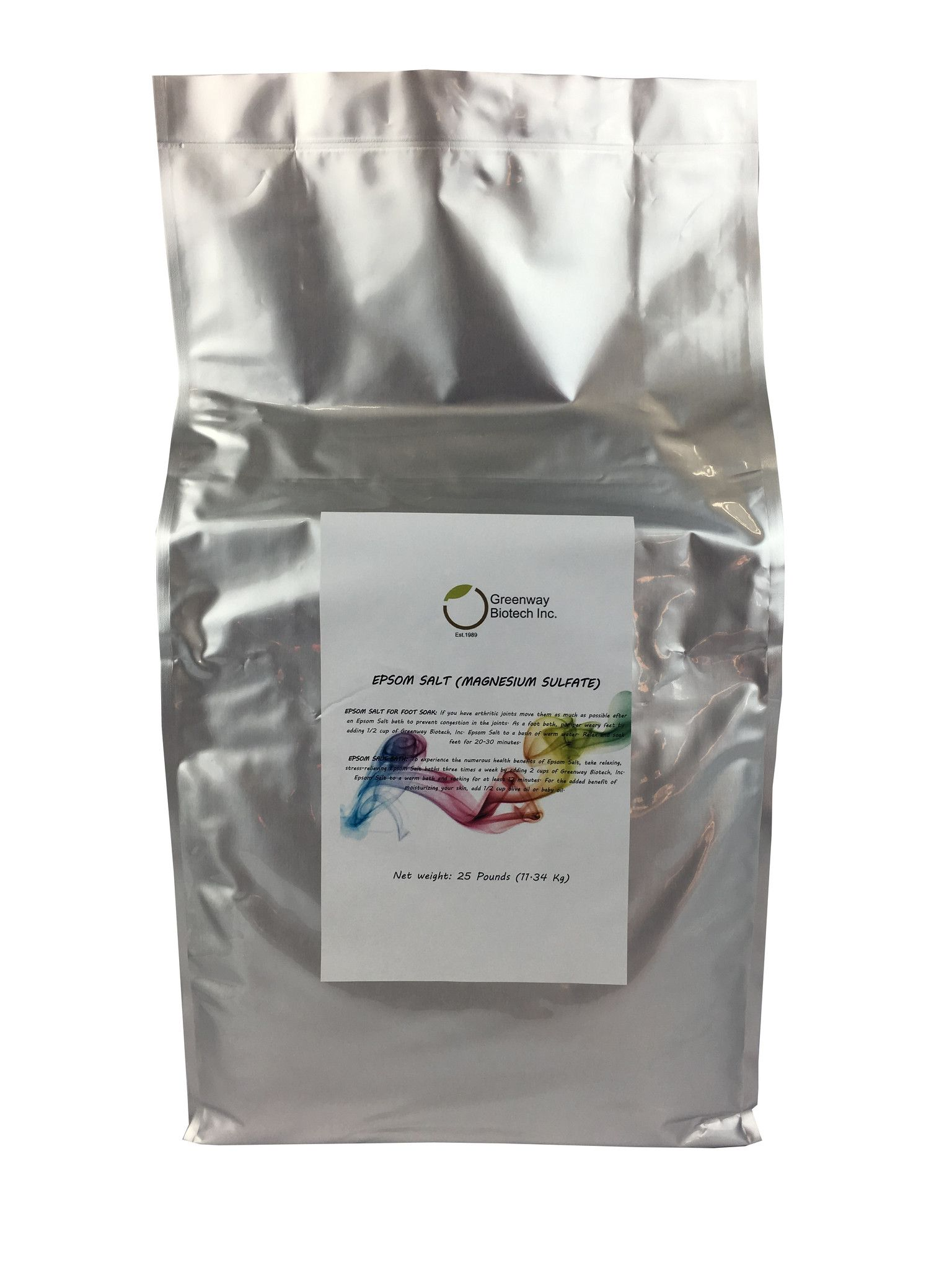 Epsom Salt (Magnesium Sulfate) in 2019 | Products | Epsom