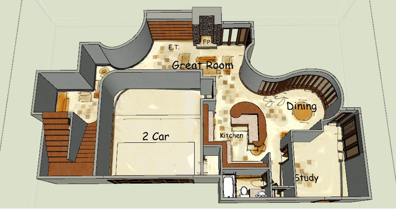 Fantasy House Plan Gretel Fantasy House House Plans House
