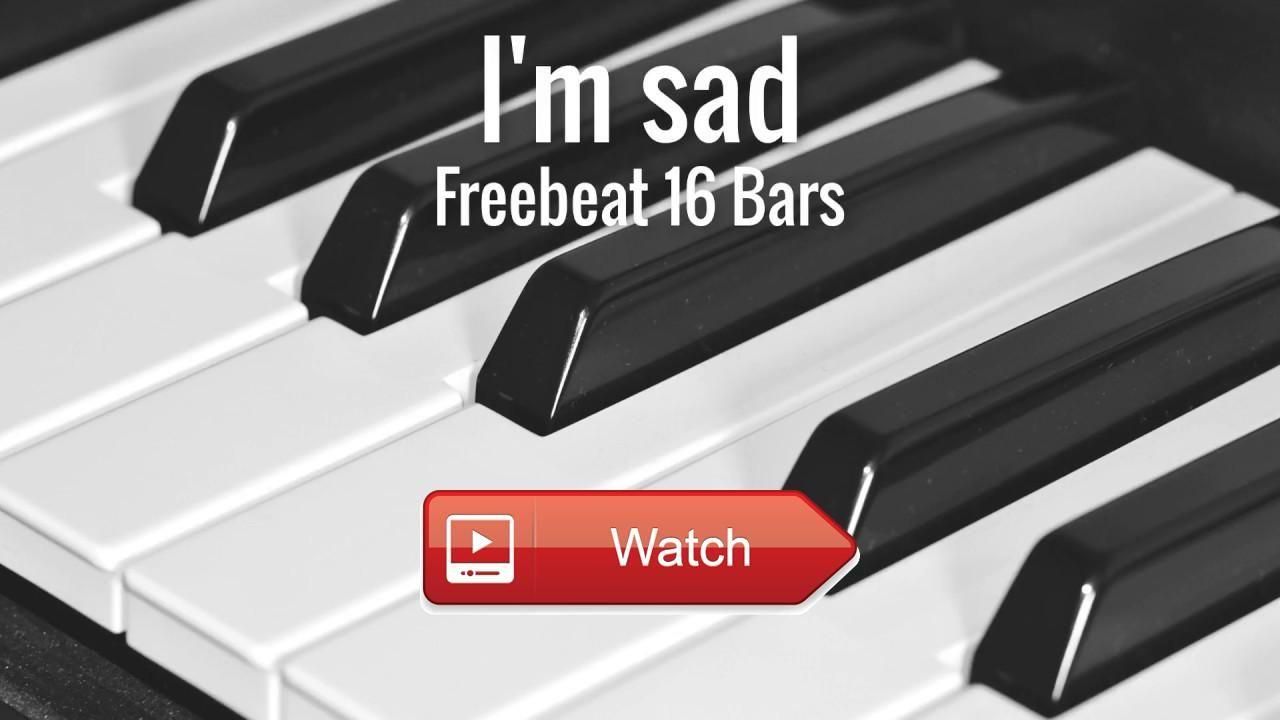 Sad Emotional Piano 1 Bars Rap Beat I'm sad Hip Hop