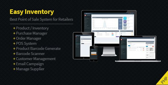 Easy Inventory | Scripts | Barcode reader, Free graphics, Script