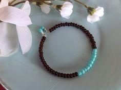 Turquoise bracelet boho bracelet boho by DakotaDesignsbyVicki