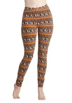 Sew Far Sew Good Leggings, #ModCloth