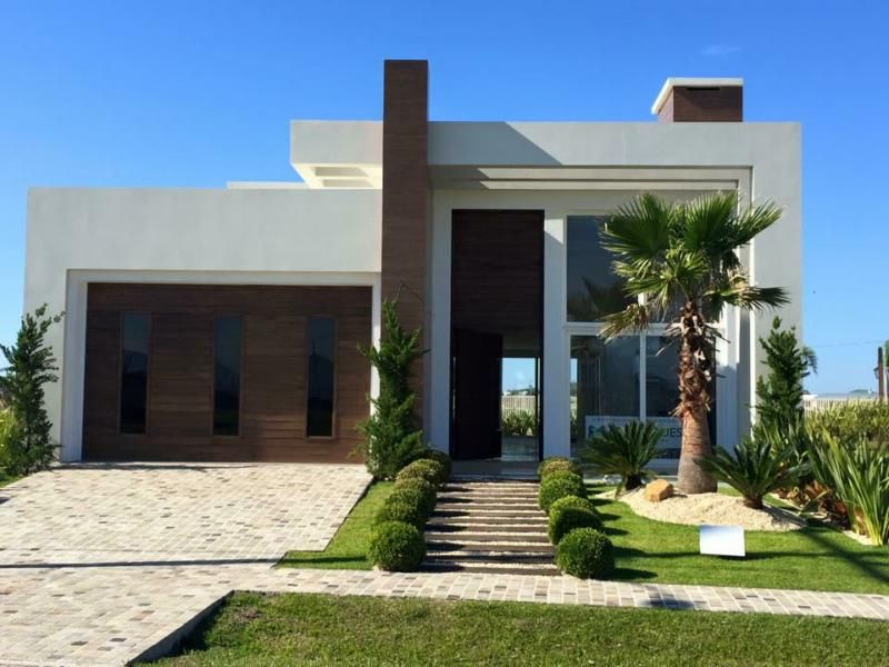 25 melhores ideias de fachadas de casas contemporaneas no for Fachadas contemporaneas