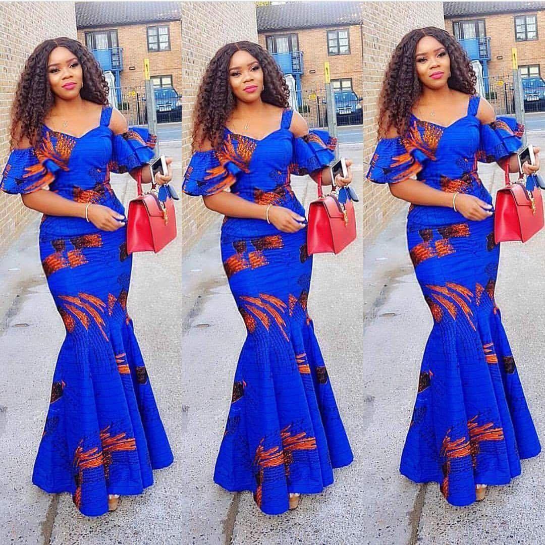 Les Plus Belles Robes Longues En Pagne Africain
