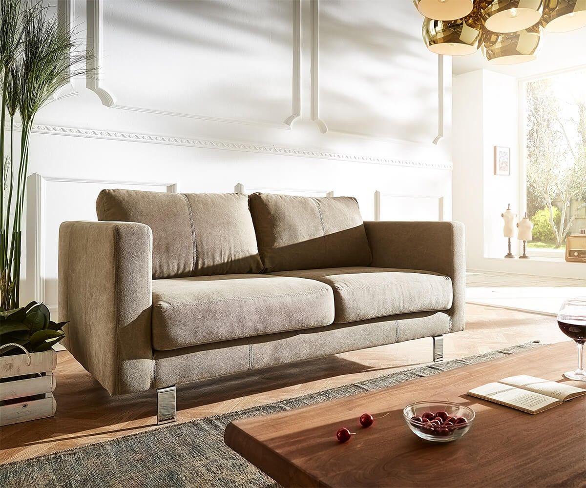 2 sitzer baracca 160x95 cm braun bauhausstil mit kissen m bel sofas 2 3 sitzer m bel und. Black Bedroom Furniture Sets. Home Design Ideas