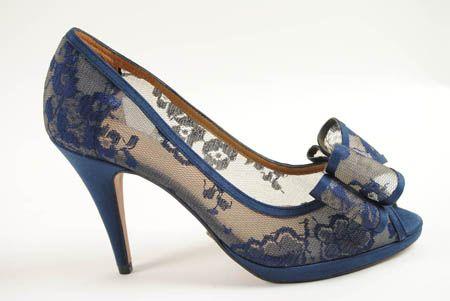 zapatos encaje azul - Buscar con Google  fab7df922bbb