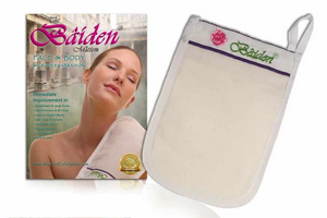 Exfoliator Microdermabrasion Tool - Best Dry Skin Baiden Mitten Treatment - Exfoliating Face Body Scrub - Blackhead Remover Pore Minimiser - Skin Firming Wrinkle Repair - Scar Removal & Stretch Marks Product - Cellulite Massager