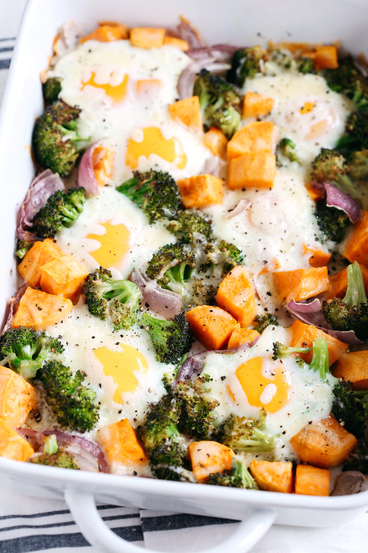 Photo of Baked Egg and Roasted Veggie Casserole – Eat Yourself Skinny