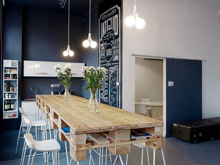 Tavolo con bancali di legno. free amazing come realizzare un