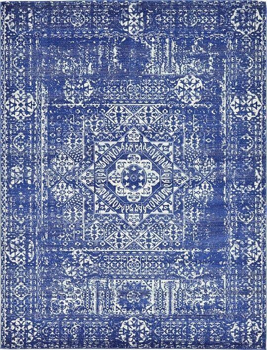 Royal Blue X Heritage Rug