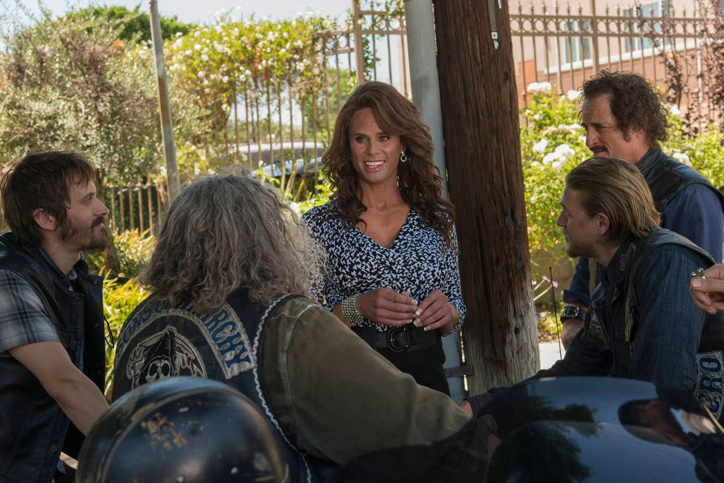 'Sons of Anarchy' Season 7 Photos - She's Back...Venus!