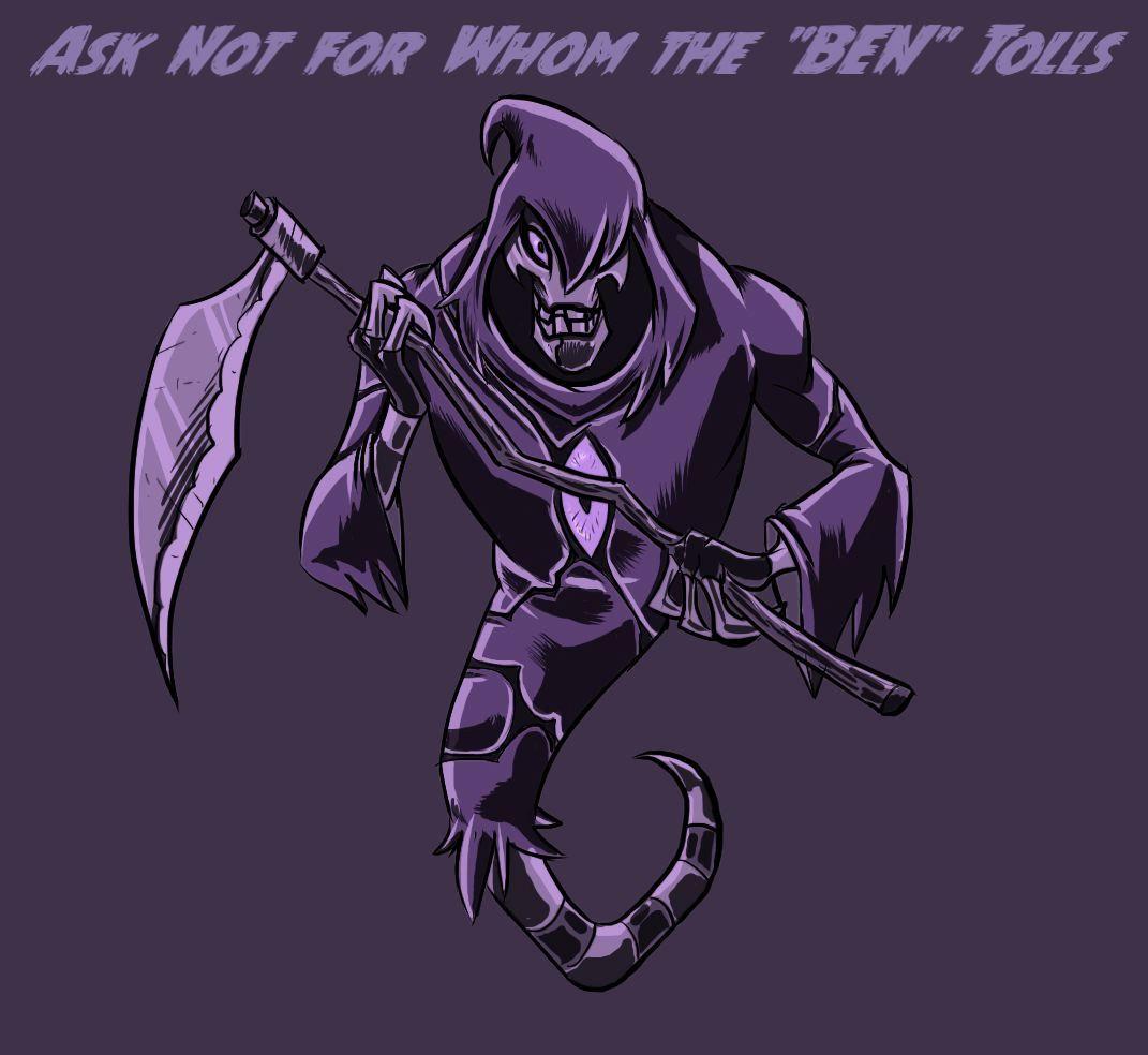 Ben 10 Ben 10 Omniverse Ghostfreak Zs Skayr Galactic Monsters