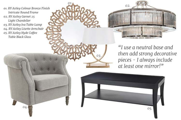 RV Astley furniture and lighting