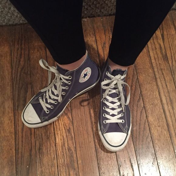 Lightly used Converse high tops (Chuck