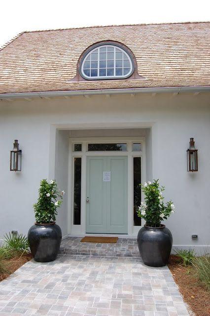 Coastal Living Show House Exterior Paint Colors For House House Paint Exterior Green House Exterior