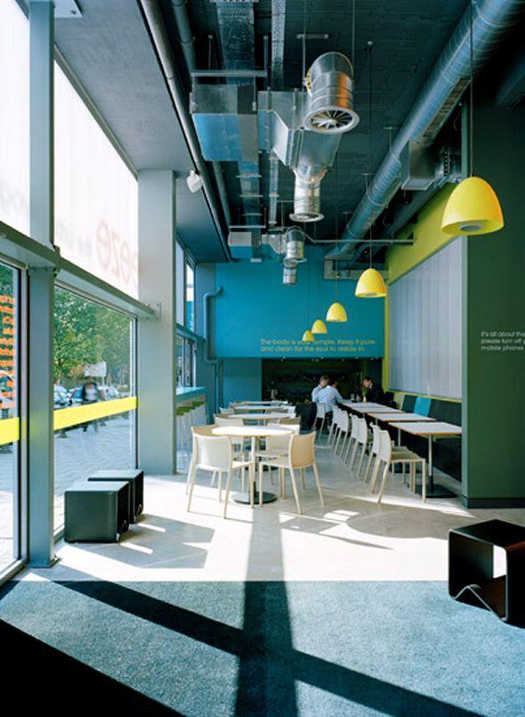 Commercial interior design breeze yoga studio contemporary for Creative interior designs beckenham