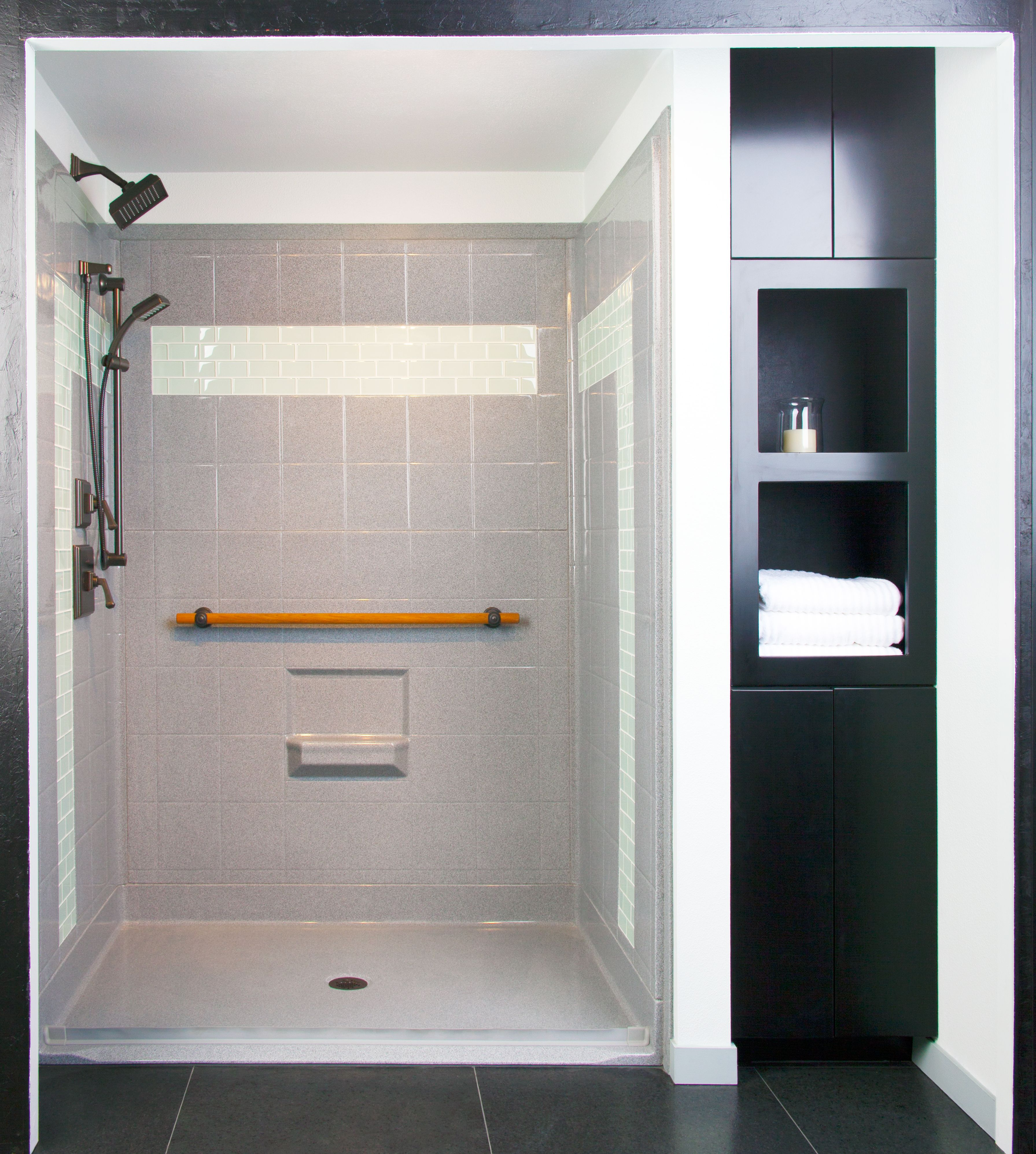 Designer Series Showers Available At Custom Bath Solutions