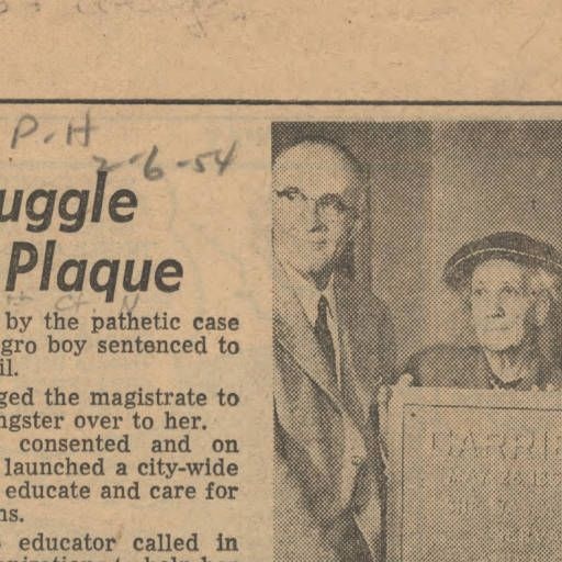Memory of Carrie Tuggle to be honored with plaque :: Newspaper Clippings