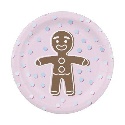 pink shrek gingerbread paper plate - kitchen gifts diy ideas decor special unique inidual customized  sc 1 st  Pinterest & pink shrek gingerbread paper plate - kitchen gifts diy ideas decor ...