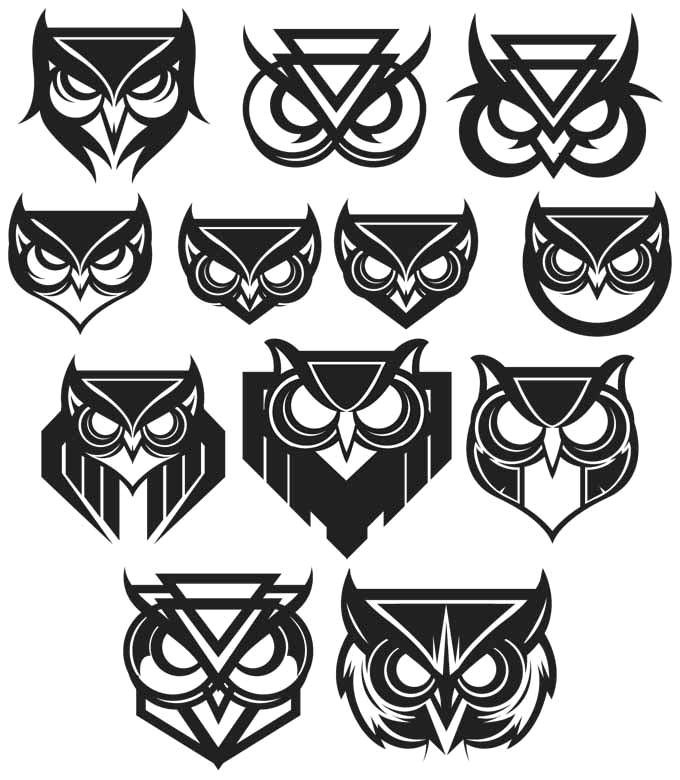 Simple Minimalist Owl Tattoo: Pin By Ignat Chakaroff On Minimalist Art
