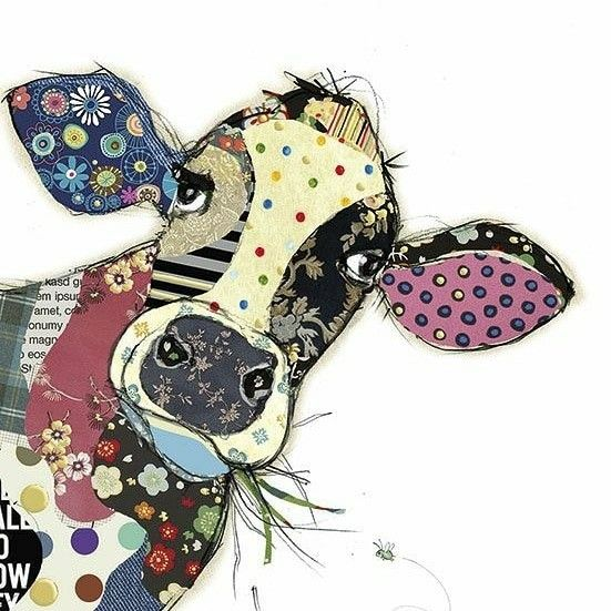 Cow - Paper or fabric   Quilting   Pinterest   Cow, Cow art and Art