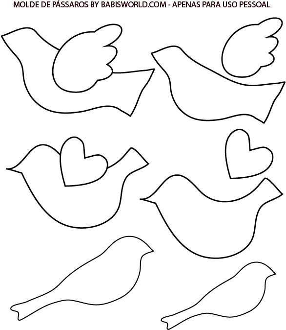 Bird ornament template Designs Pinterest Bird ornaments - onesie template