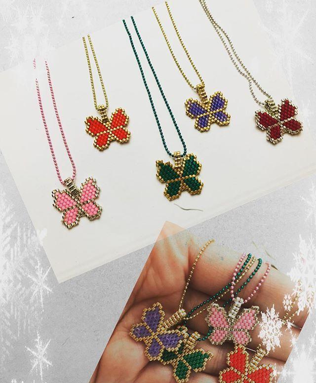 Photo of Colorfully chirping butterfliesuki # miyuki # rengarenkk #kolyesiparis #bi …
