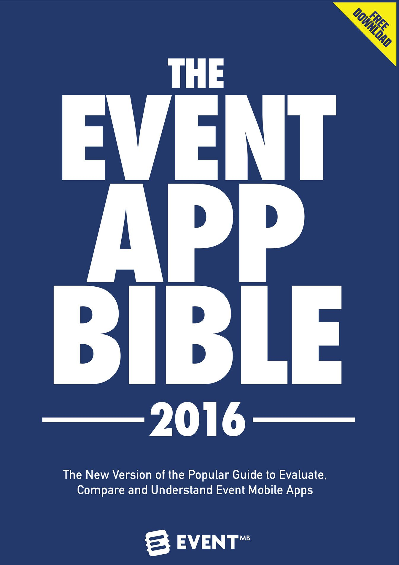 The most comprehensive guide for event mobile apps