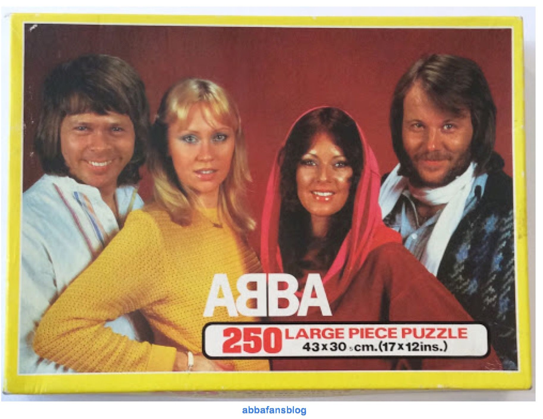 Collection Abba Jigsaw | Abba Fans Blog | Collection, Fan