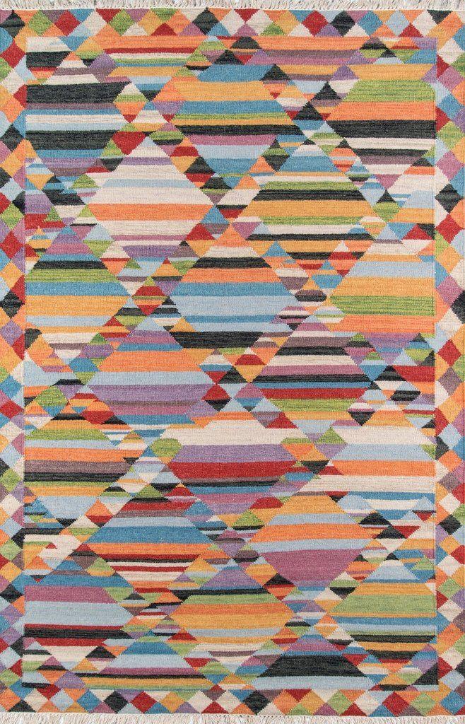 Finley Rug Wool area rugs, Traditional kilim, Kilim pattern