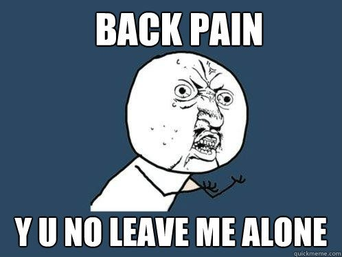 Pin On Back Pain Funnies