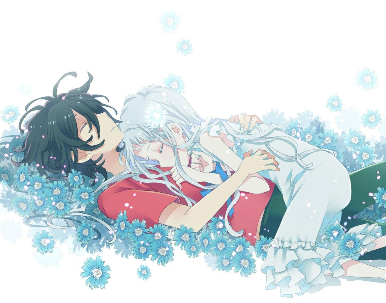 Menma and jintan anohana ano hi mita hana no namae o bokutachi wa mada shiranai anime