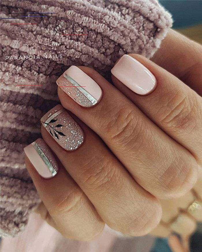Untitled In 2020 Glitter Gel Nail Designs Latest Nail Designs Glitter Gel Nails