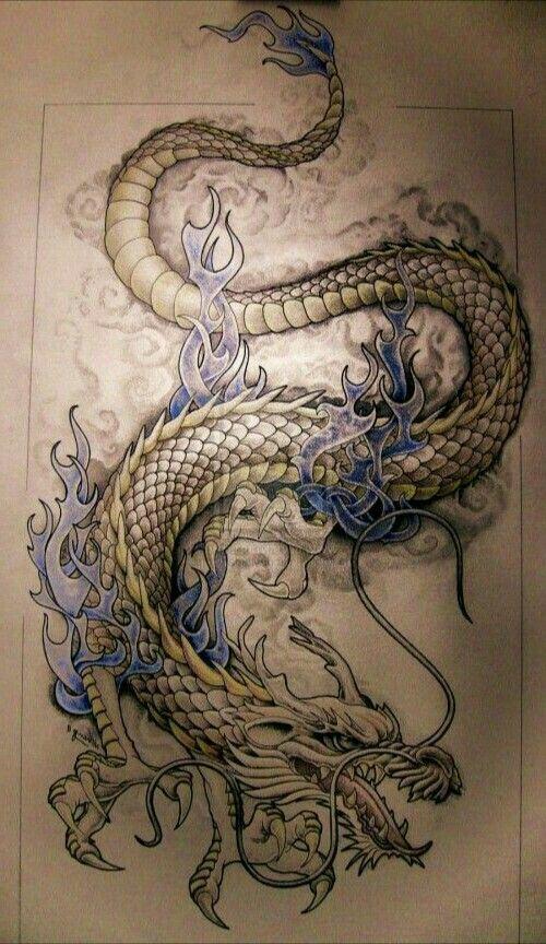 Eigene Vorlage Dragon Tattoo Art Dragon Tattoo Designs Asian Dragon Tattoo