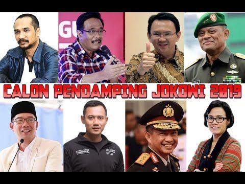 Hasil gambar untuk calon cawapres jokowi 2019