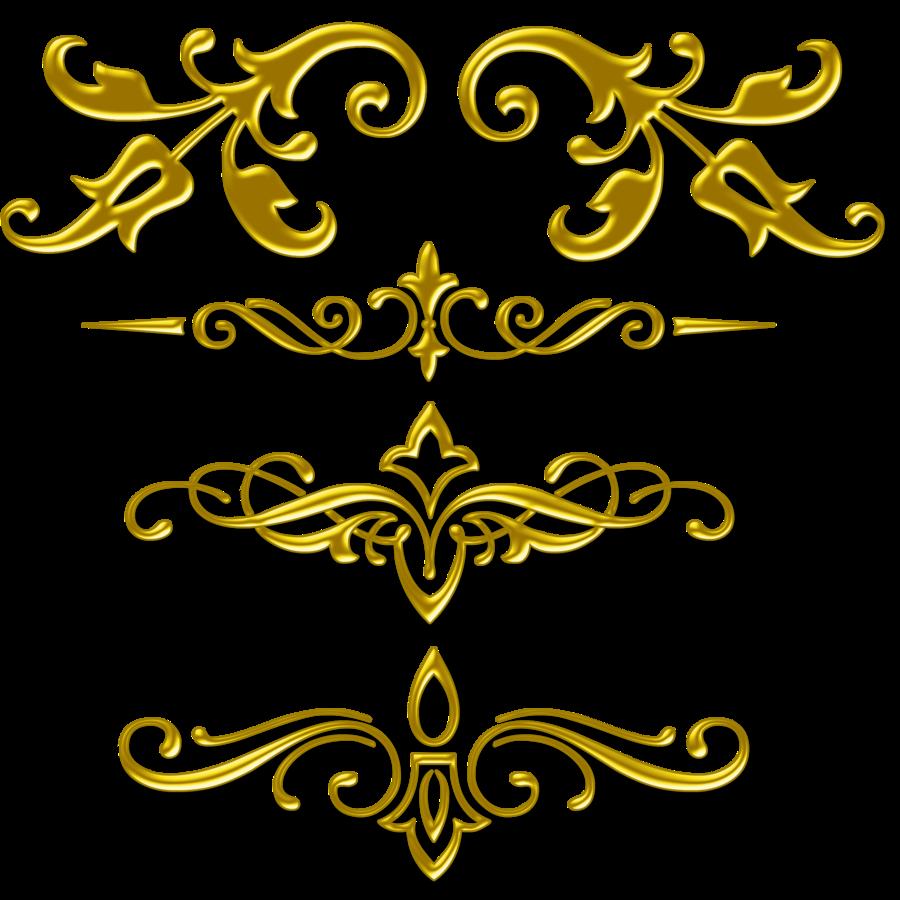 Gold Corner Designs Png | www.pixshark.com - Images ...