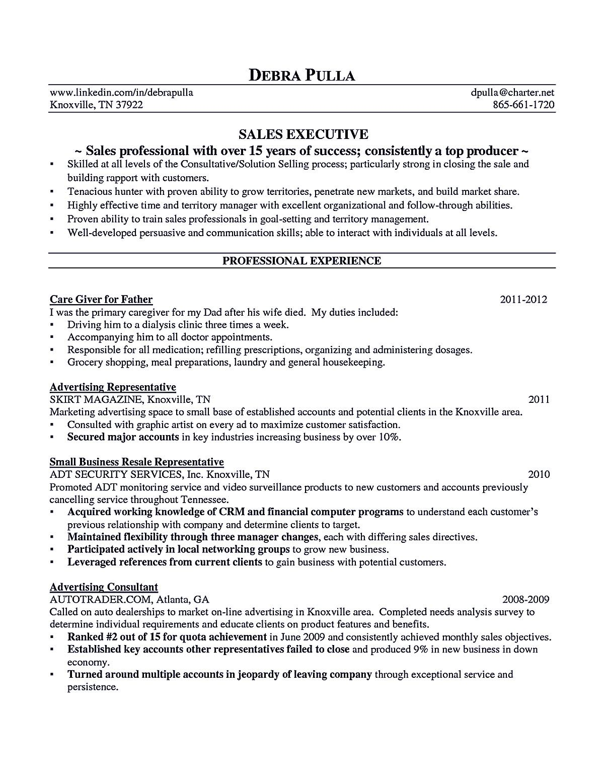 Account Executive Resume Is Like Your Weapon To Get The Job