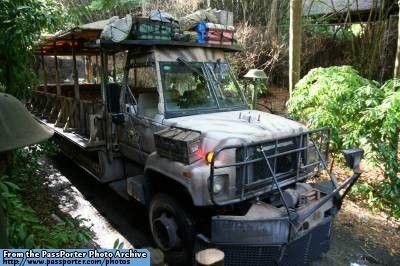 Animal Kingdom Kilimanjaro Safari Jeep Safari Jeep Animal