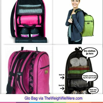 Gym Locker Organizer GLO Bag Just What I Need A Backpack With Shoe Compartment