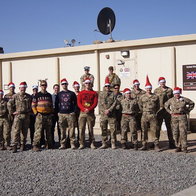Merry Christmas To Our Troops Serving In Iraq The Uk Has 60