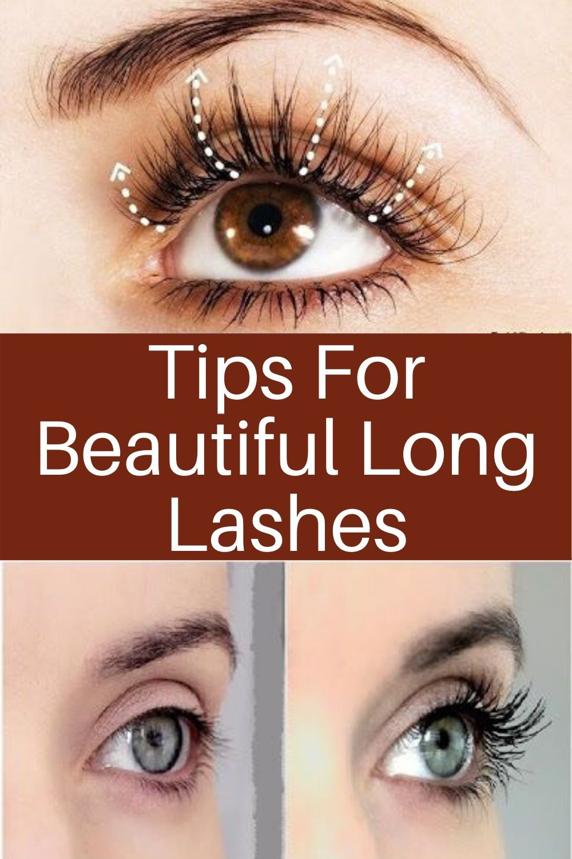 Tips for Beautiful long Lashes   Get long eyelashes, How ...