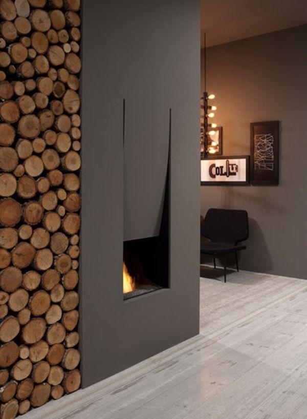 8 chimeneas originales que querrás tener en casa